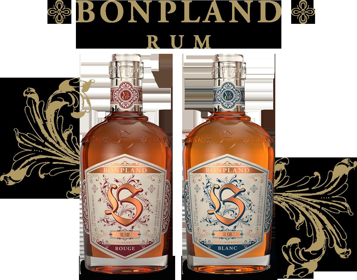 Flasche Bonpland Rouge und Blanc